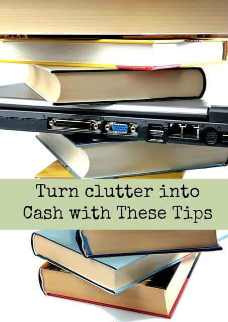 Turn Clutter into Cash - Barefoot Budgeting