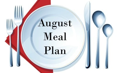 August Meal Plan