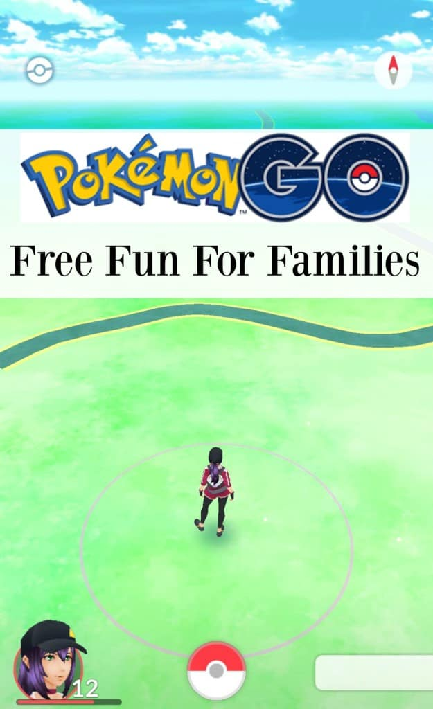 Pokemon GO is a great source of FREE fun for families! See how it can bring your family together!