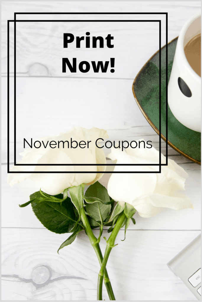 november printable coupons end of month