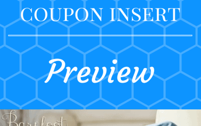 Coupon Inserts for 1/1/2017