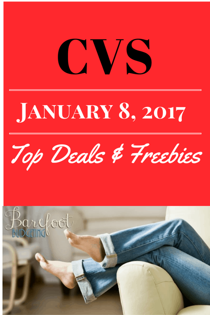 cvs top deals and freebies 1/8/17 coupon matchup