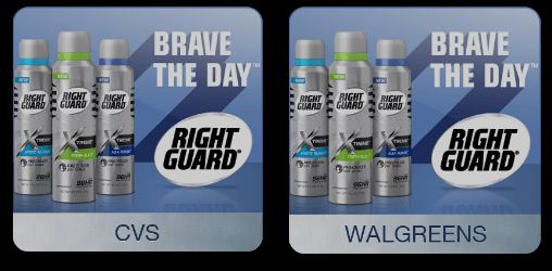 FREE Full Size Right Guard Spray!