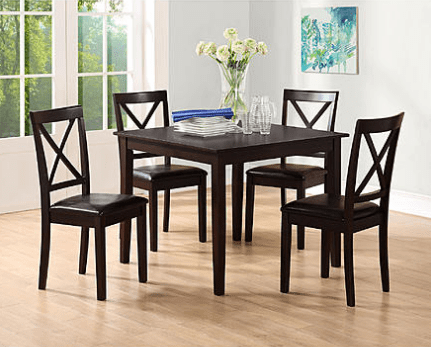 Essential Home Sydney 5 pc Dining Set Just $78.50 After Points!