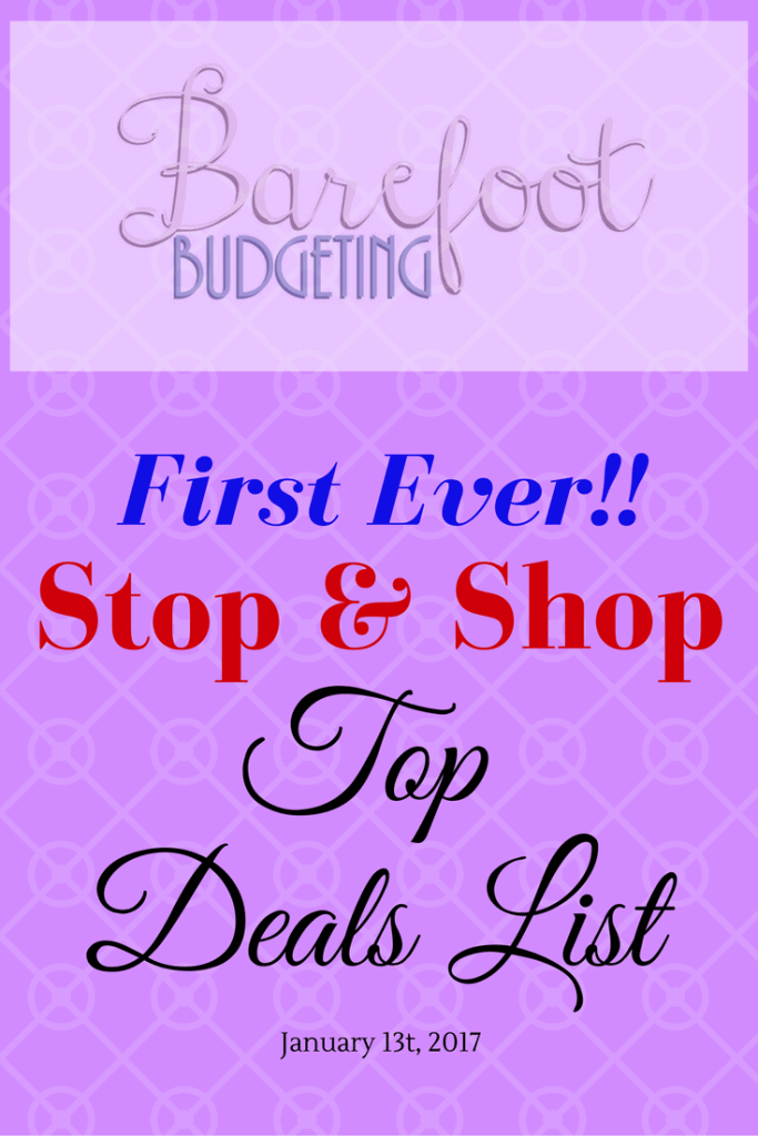stop & shop 1/13/17 top deals