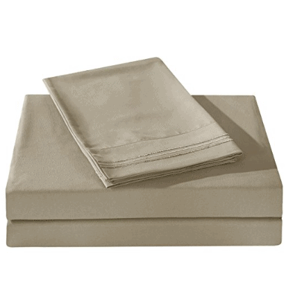 Queen Size 1800 TC Sheet Set Just $15.99 (T) or $19.99 (Q)!