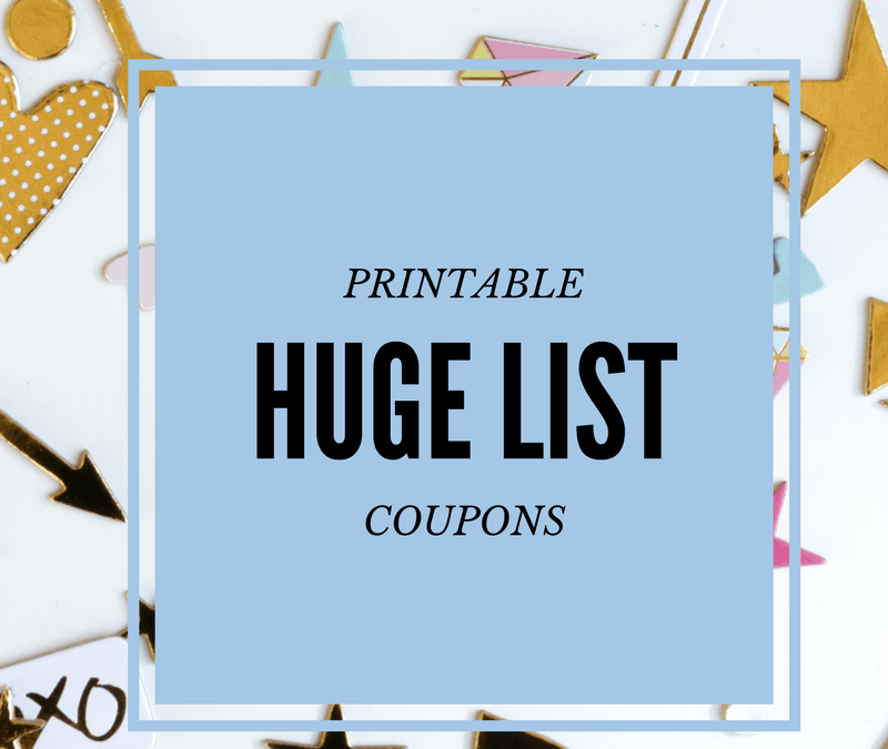 February Printable Coupons. HUGE LIST!!! Bonus