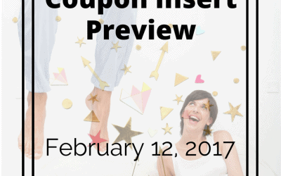 Sunday February 12, 2017 Coupon Insert Preview