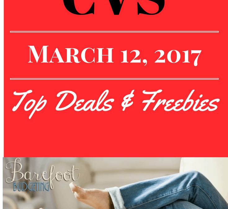 CVS Top Deals & FREEBIES wk: March 12, 2017