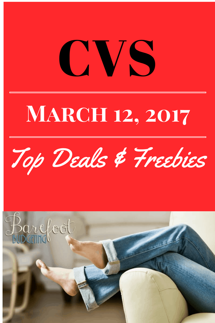 cvs top deals  u0026 freebies wk  march 12  2017