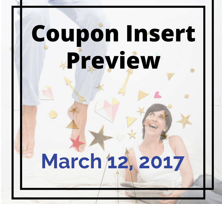 March 12,2017 Coupon Insert Preview