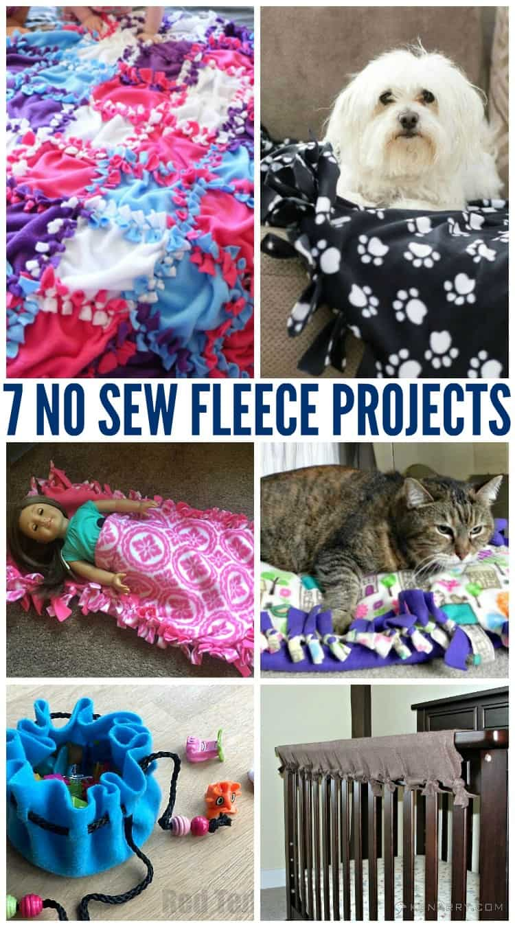 no sew fleece projects Looking to make a fleece blanket with a tied fringe edge they're inexpensive and easy for kids and teens, making them perfect for gifts or charity projects whether you've purchased a kit or simply want to start with a few pieces of fabric, follow these directions to make a warm, no-sew tie blanket out of two pieces of fleece.